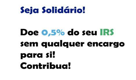 Doe 0,5% do seu IRS!