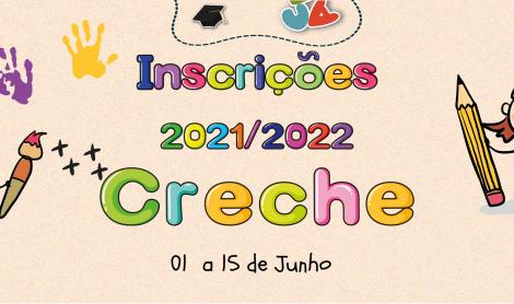 Inscrições Ano Lectivo 2021/2022 – Casa da Criança